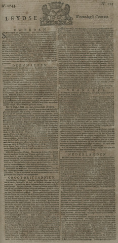 Leydse Courant 1743-10-09