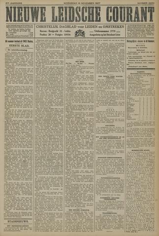 Nieuwe Leidsche Courant 1927-11-16