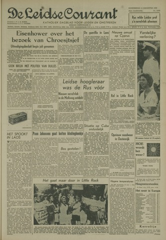 Leidse Courant 1959-08-13
