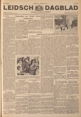 Leidsch Dagblad 1947-02-14