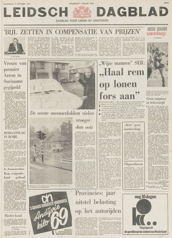 Leidsch Dagblad 1975-10-13