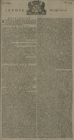 Leydse Courant 1734-12-24