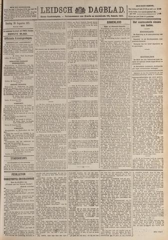 Leidsch Dagblad 1921-08-30