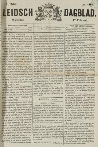 Leidsch Dagblad 1869-02-17