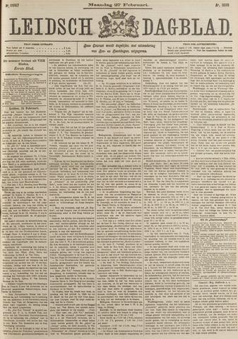 Leidsch Dagblad 1899-02-27