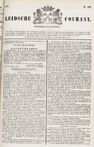 Leydse Courant 1877-08-23