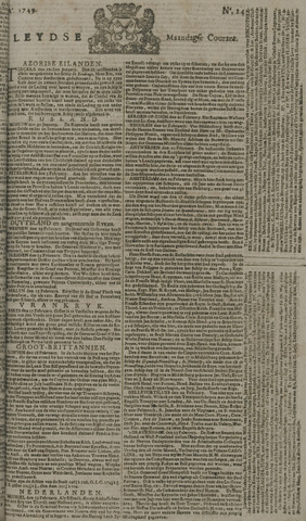Leydse Courant 1749-02-24
