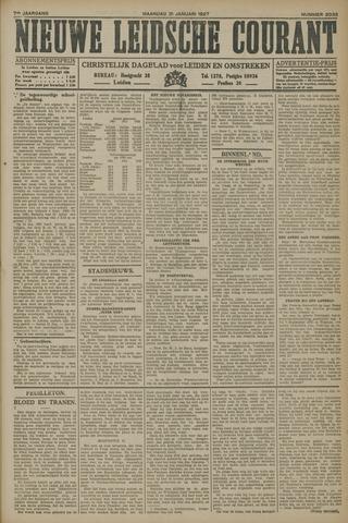 Nieuwe Leidsche Courant 1927-01-31