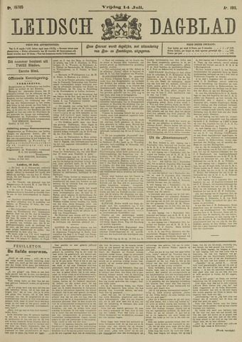 Leidsch Dagblad 1911-07-14