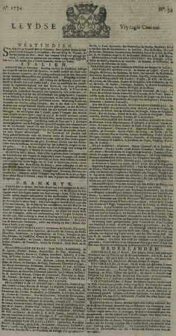 Leydse Courant 1734-03-19