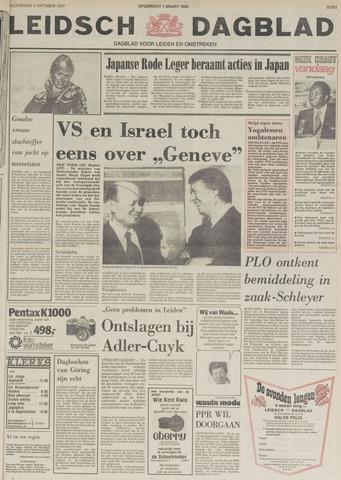 Leidsch Dagblad 1977-10-05