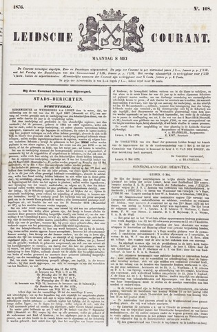 Leydse Courant 1876-05-08