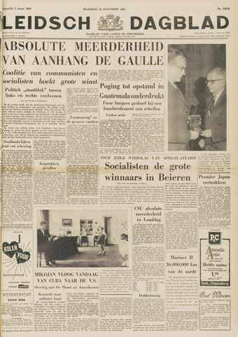 Leidsch Dagblad 1962-11-26