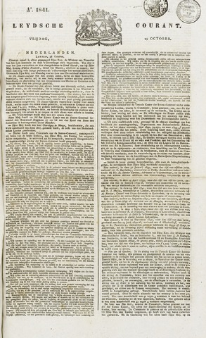 Leydse Courant 1841-10-29