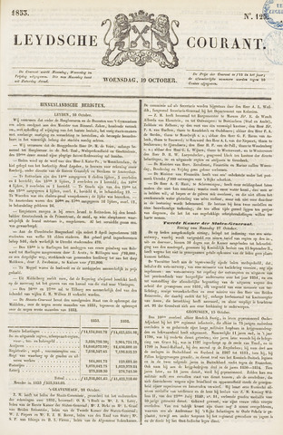 Leydse Courant 1853-10-19