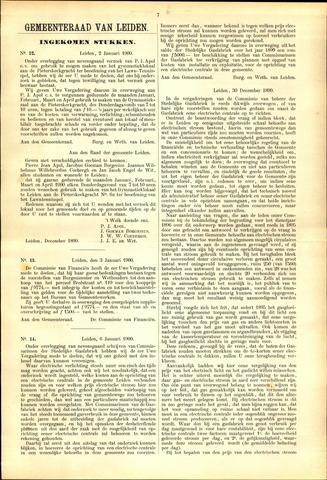 Handelingen van de Raad 1900-01-02