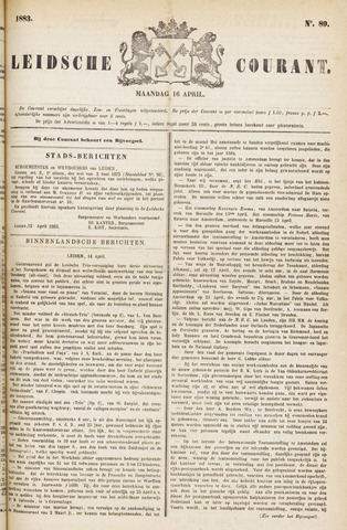 Leydse Courant 1883-04-16