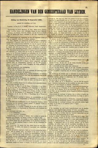 Handelingen van de Raad 1862-09-25