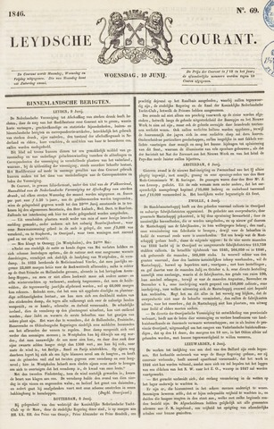 Leydse Courant 1846-06-10