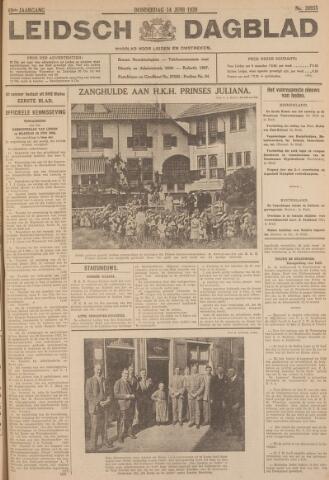 Leidsch Dagblad 1928-06-14