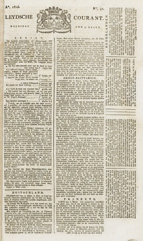 Leydse Courant 1826-03-15