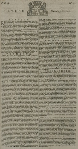 Leydse Courant 1734-06-28
