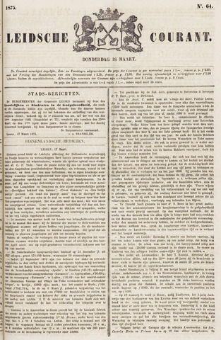 Leydse Courant 1875-03-18