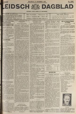 Leidsch Dagblad 1933-11-27