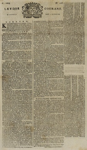 Leydse Courant 1803-10-03