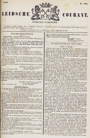 Leydse Courant 1882-12-14