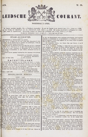 Leydse Courant 1879-04-02
