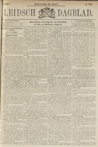 Leidsch Dagblad 1892-06-11