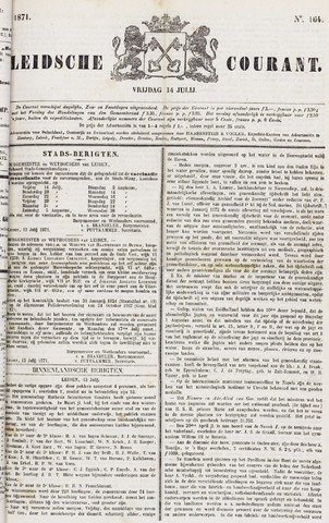 Leydse Courant 1871-07-14
