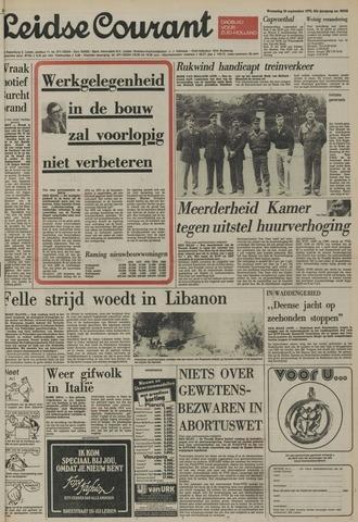 Leidse Courant 1976-09-29