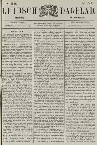 Leidsch Dagblad 1873-11-24