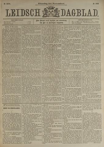 Leidsch Dagblad 1896-11-24