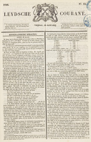 Leydse Courant 1846-01-30
