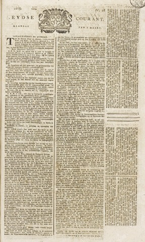 Leydse Courant 1815-03-06