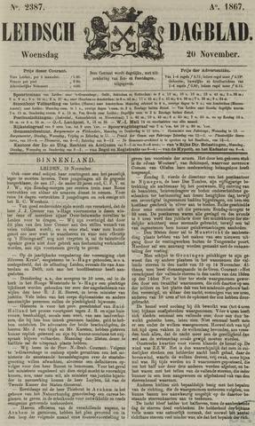 Leidsch Dagblad 1867-11-20