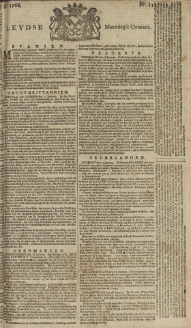 Leydse Courant 1766-01-27