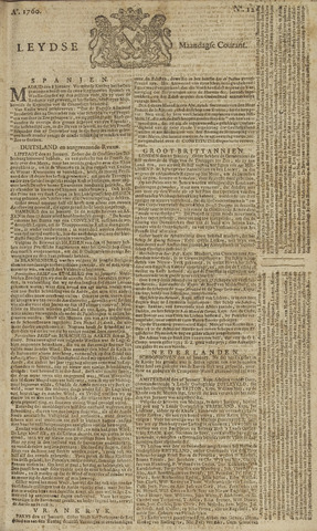 Leydse Courant 1760-01-28
