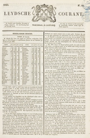 Leydse Courant 1855-01-31