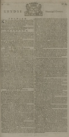 Leydse Courant 1739-07-27
