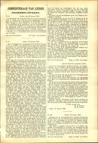 Handelingen van de Raad 1899-01-26