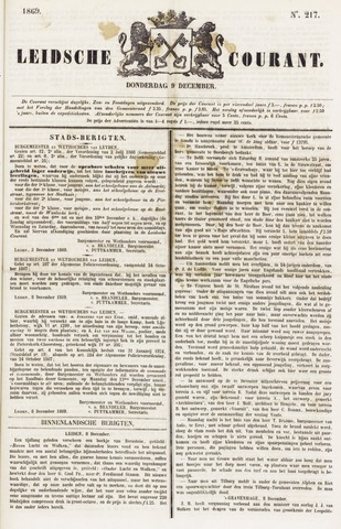 Leydse Courant 1869-12-09