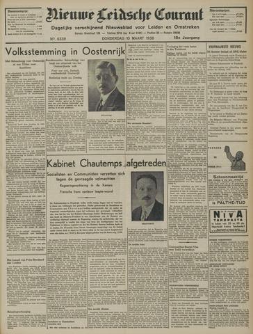 Nieuwe Leidsche Courant 1938-03-10