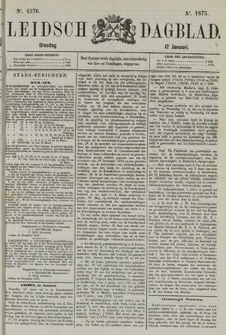 Leidsch Dagblad 1875-01-12