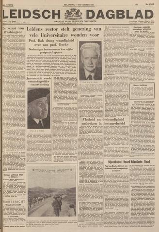 Leidsch Dagblad 1951-09-17