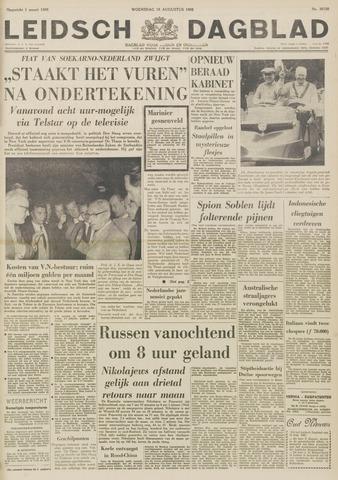 Leidsch Dagblad 1962-08-15