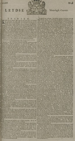 Leydse Courant 1727-04-21